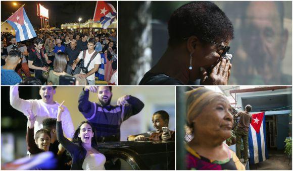 reacción cubana muerte de castro