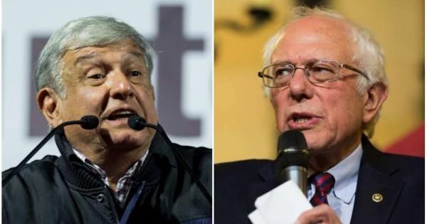 En Estados Unidos llaman a AMLO el 'Bernie Sanders mexicano'
