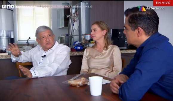 Resultado de imagen para LA CASA DE ANDRES MANUEL EN ENTREVISTA CON JAVIER ALATORRE