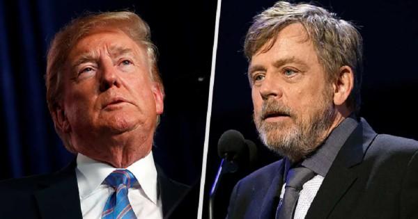 Luke Skywalker: Ansío ver a Trump pedir a AMLO pagar el muro