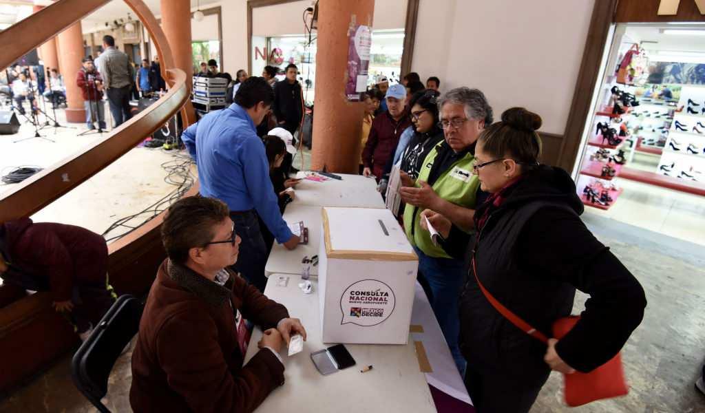 Localiza Tu Casilla Para Votar En La última Consulta De Amlo