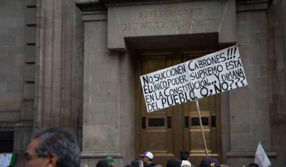 Resultado de imagen para Protestas de jueces magistrados y ministros