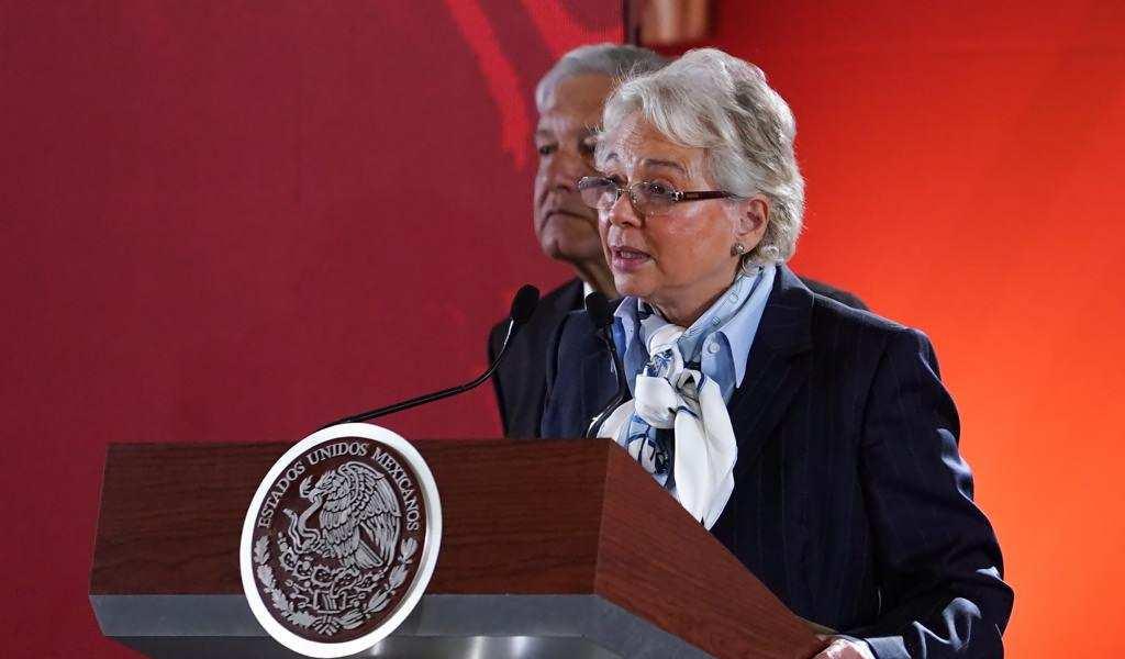 Olga Sánchez Cordero.