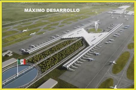 Resultado de imagen de aeropuerto de santa lucia mexico