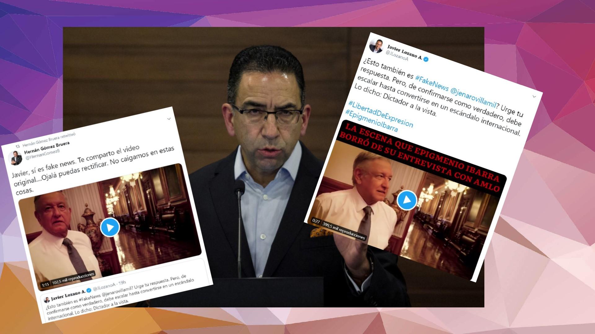 Javier Lozano cae en 'fake news' sobre AMLO y lo trollean