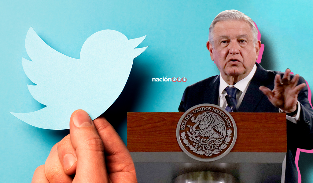 Twitter le contesta a AMLO tras llamar 'panista' a directivo