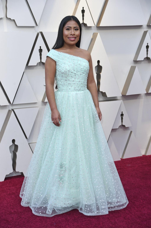 9a02a06b4e La noche en que Yalitza nos llenó de orgullo en los Oscar