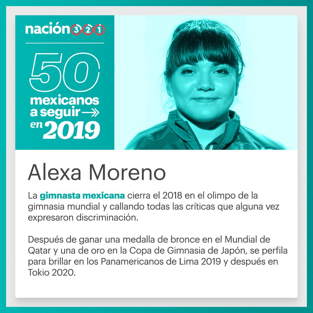 La gimnasta mexicana cierra el 2018 en el olimpo de la gimnasia mundial y  callando todas las críticas que alguna vez expresaron discriminación. 3a3644907a5
